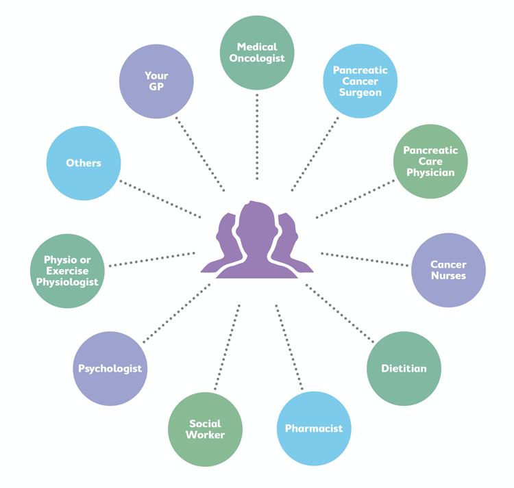 Medical Care Team Diagram