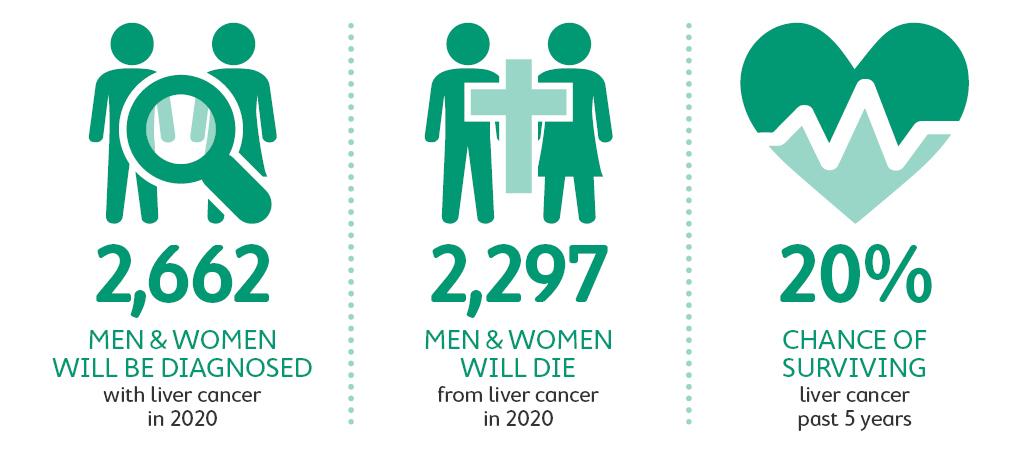 Liver cancer statistics 2020