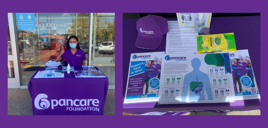 Pancare raising awareness at a shopping centre near you