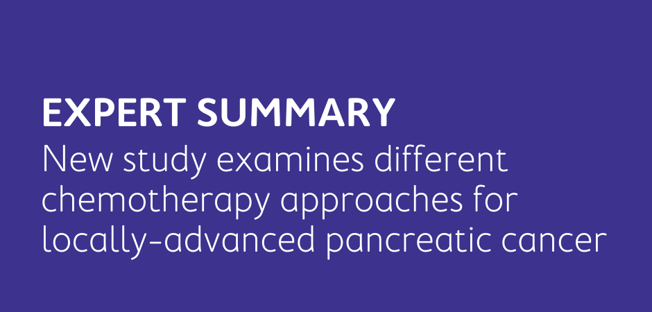 different chemotherapy approaches for pancreatic cancer