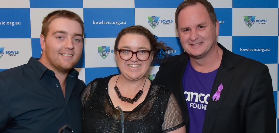 Pancare bowls them over at Bowls Victoria Awards Night